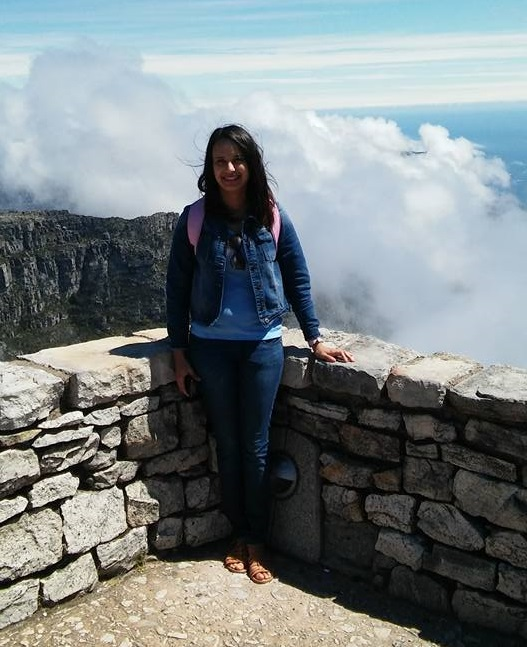 Me up on Table Mountain